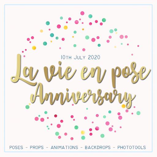 la vie en pose anniversary 2020